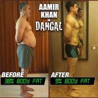 Aamir Khan's body transformation for 'Dangal' film