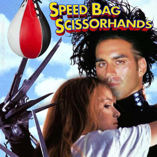 Adam Salomon as Speed Bag Scissorhands