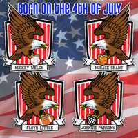 American sports stars born on the 4th of July