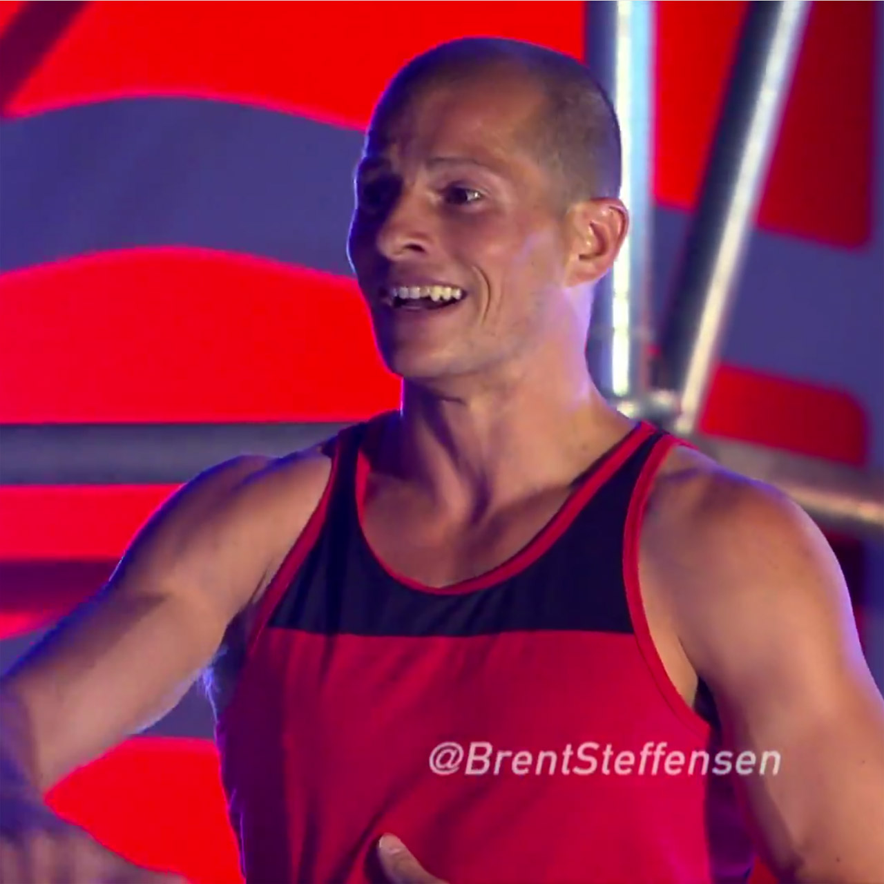 Brent Steffensen turns in fastest time on 'American Ninja Warrior' 2015 Vegas Finals Stage 1