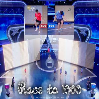 Cen Xiaolin jumps rope 1,000 times in less than 3 minutes