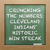 Crunching the numbers behind the Cleveland Indians' historic win streak