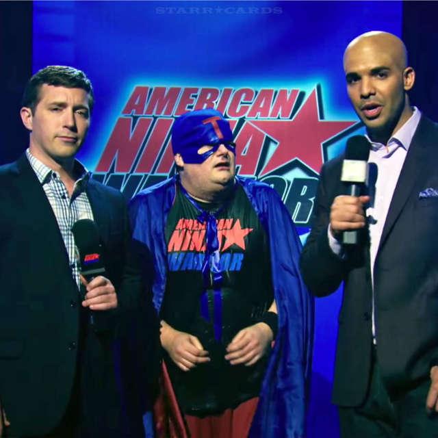 Drake plays role of 'American Ninja Warrior' commentator Akbar Gbajabiamila