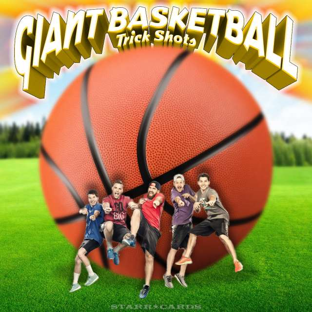 Dude Perfect presents Giant Basketball Trick Shots