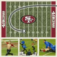 Field invader out rushes Rams at 49ers game