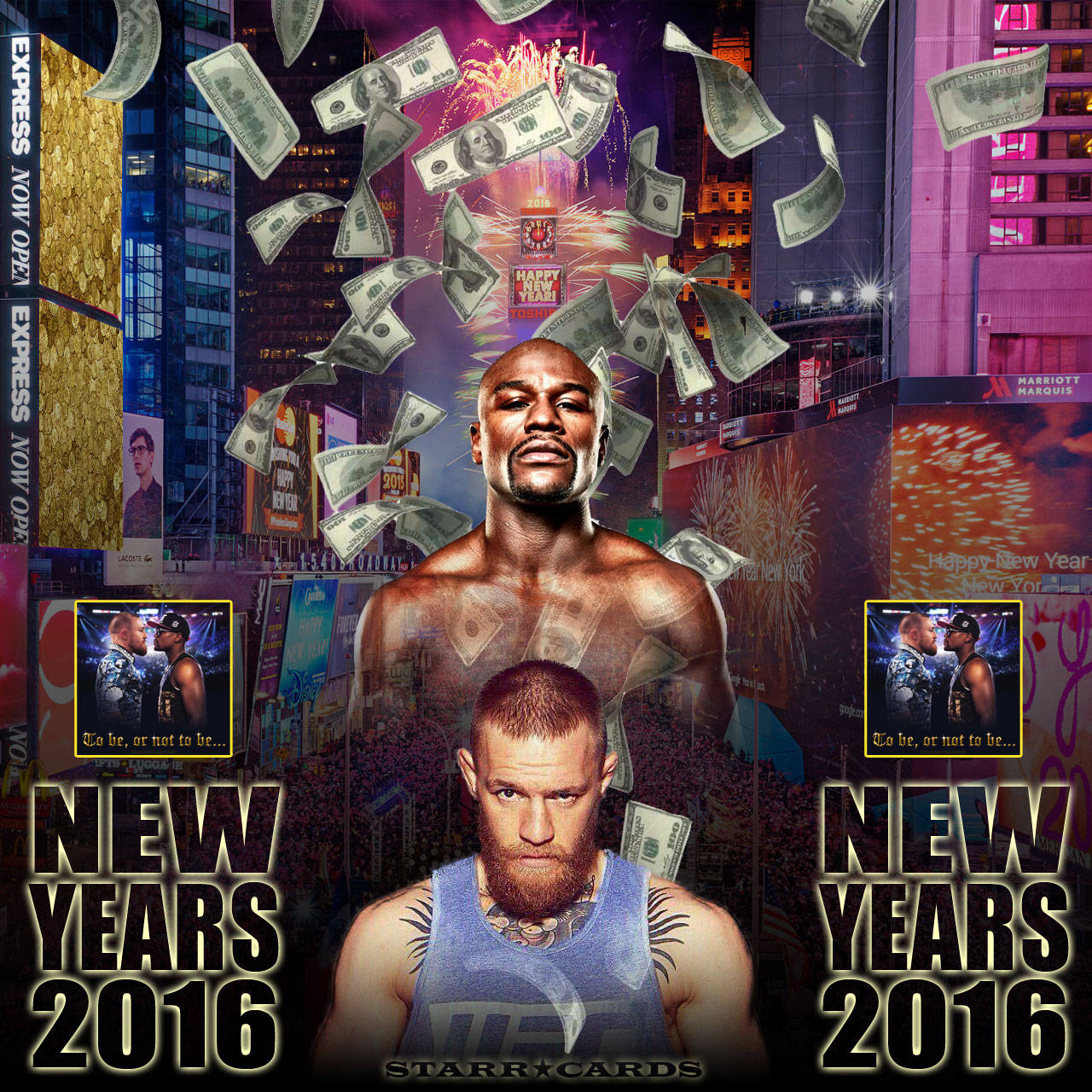 Floyd Mayweather vs Conor McGregor: New Year's 2016 Bash