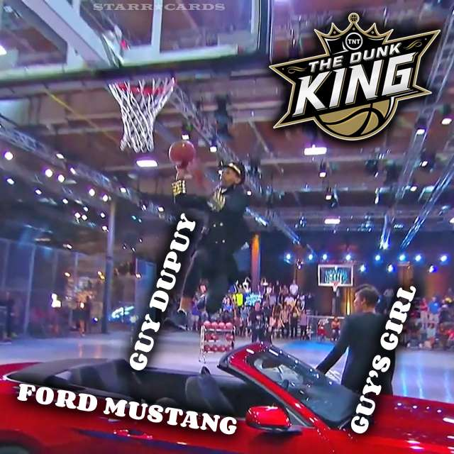 Guy Dupuy wins the second season of TNT's 'Dunk King' after jumping a Ford Mustang