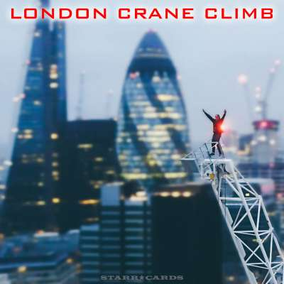 Harry Gallagher (aka Night Scape) scales London crane for urban climbing drone video
