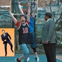 Jimmy Fallon plays basketball in triumphant SNL return