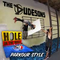 Jumping Through Impossible Shapes! (PARKOUR CHALLENGE) with Jukka Dudeson