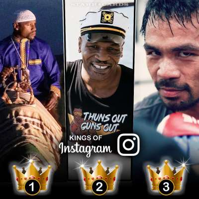 Kings of Instagram: Floyd Mayweather Jr, Mike Tyson, Manny Pacquiao have most followers among boxers