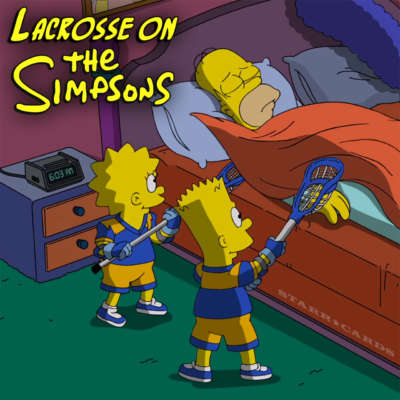 Lacrosse on The Simpsons: Lisa and Bart wake Homer for LAX tournament