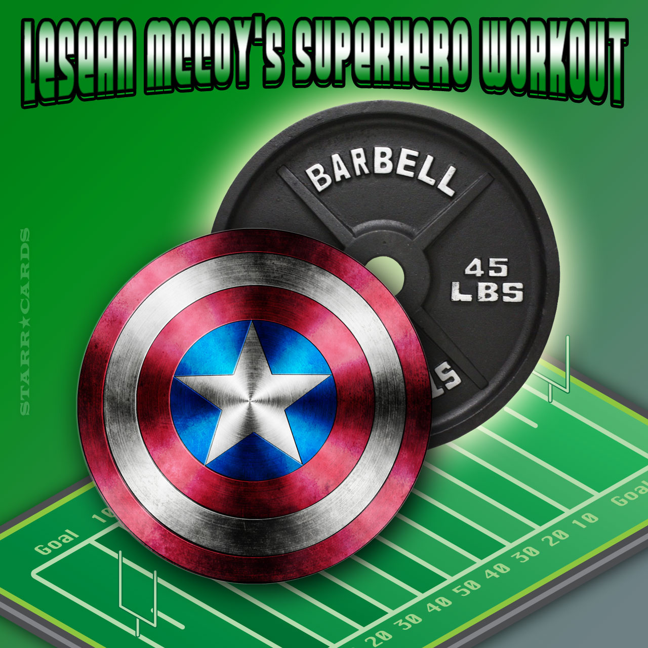 LeSean McCoy's superhero workout