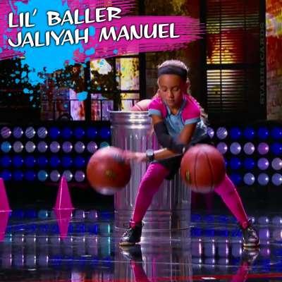 Lil' Baller Jaliyah Manuel entertains on Steve Harvey's 'Little Big Shots'
