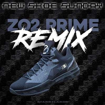 Lonzo Ball's ZO2 Prime Remix basketball shoe