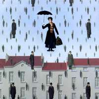 'Mary Poppins' inspires umbrella parachute dreams