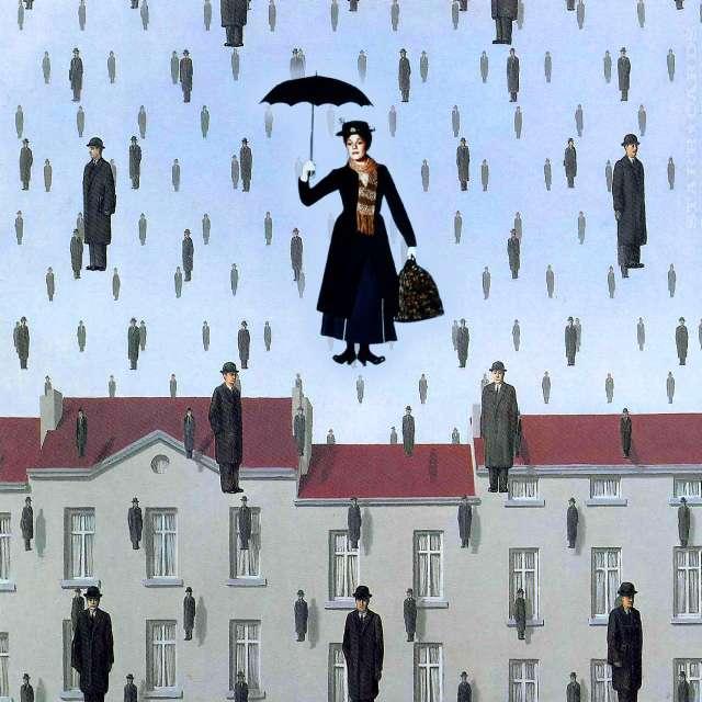 'Mary Poppins' inspires umbrella parachute dreams