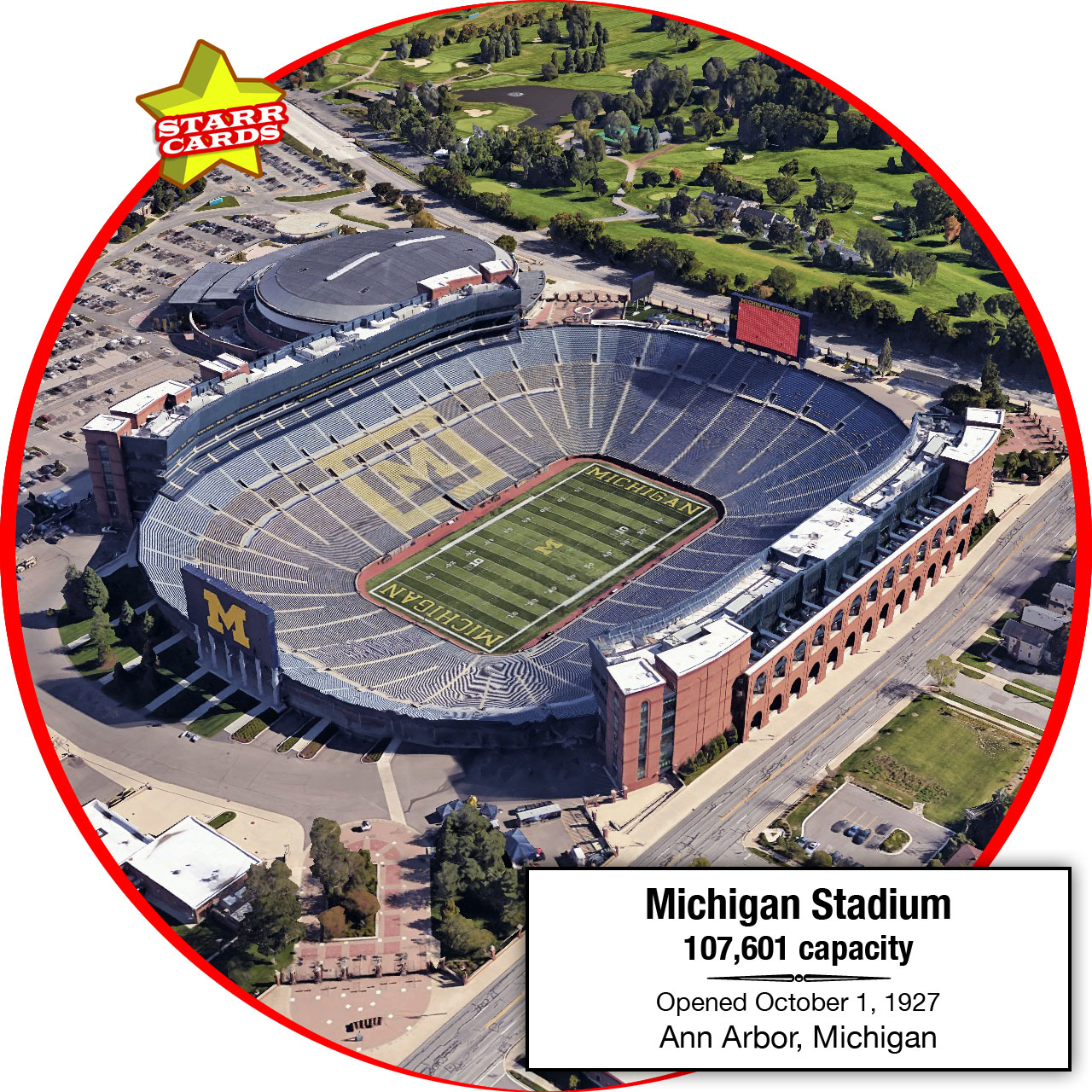 Michigan Stadium, Ann Arbor, Michigan: Home to the Michigan Wolverines