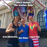 """Mitch Vedepo """"The Science Ninja"""" scores high marks on ANW after Grant McCartney, Logan Paul test course"""