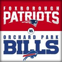 New England Patriots vs Buffalo Bills or Foxborough Patriots vs Orchard Park Bills?