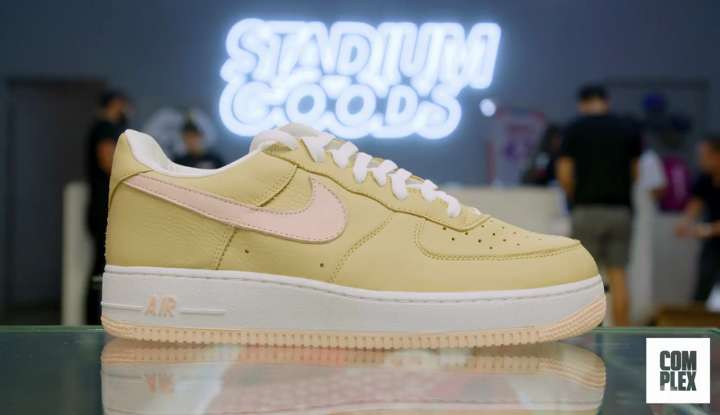 Nike Air Force 1 Low Retro bought by Roger Federer