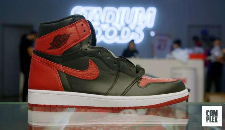 Nike Air Jordan 1 Retro High OG bought by Roger Federer