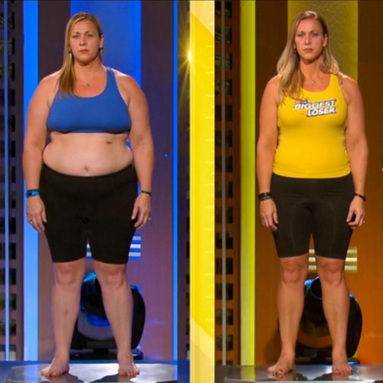 "Olympic softball champion Lori Harrigan slims down on ""The Biggest Loser"""