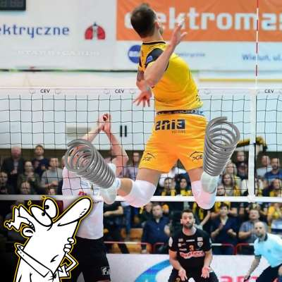 Poland volleyball star Bartosz Kurek has a monster vertical jump