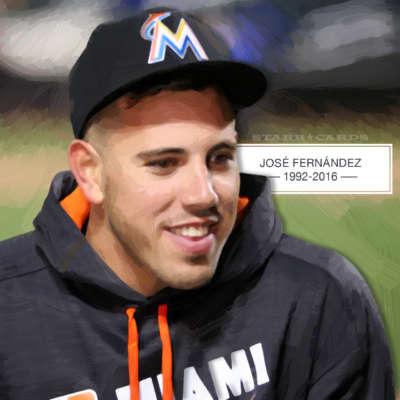 R.I.P. Miami Marlins pitcher José Fernández 1992-2016