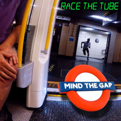 Racing the Tube on foot in London