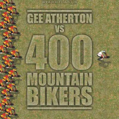 Red Bull Fox Hunt: Gee Atherton vs 400 Mountain Bikers