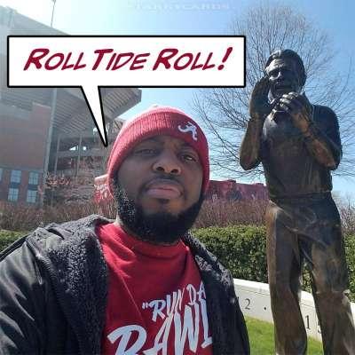 "Roll Tide Roll: Jermaine ""Funny Maine"" Johnson is a Bama fan to the core"