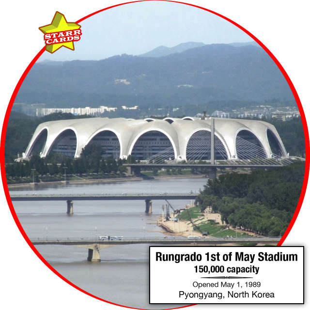 Rungrado 1st of May Stadium, Pyongyang, North Korea