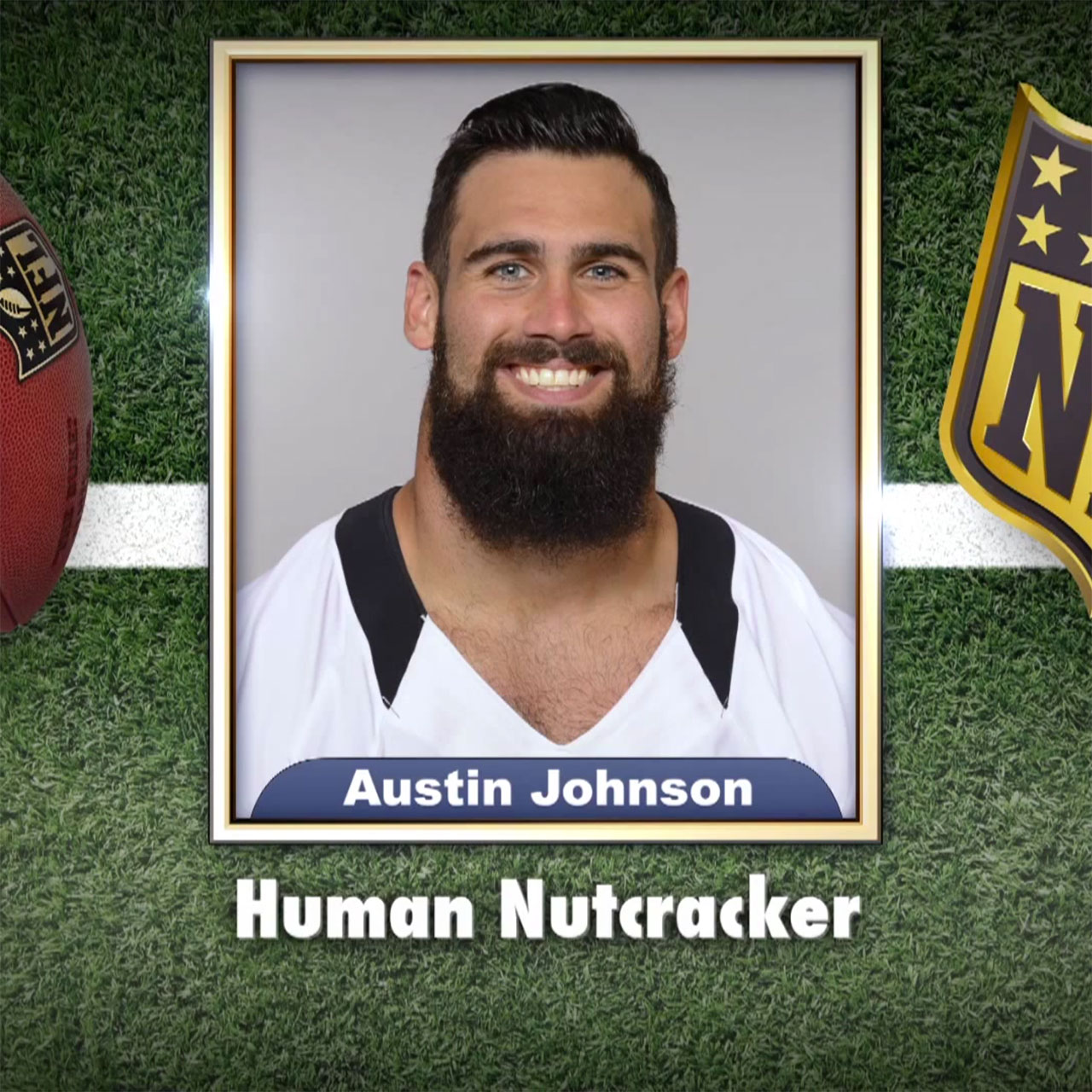 Saints' Austin Johnson appears on Tonight Show Superlatives