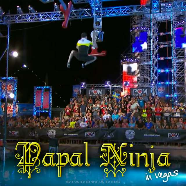 "Sean Bryan the ""Papal Ninja"" soars on 'American Ninja Warrior"" Las Vegas National Finals: Stage 2"