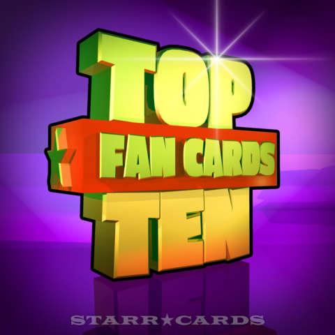 Starr Cards Top Ten Fan Cards 12