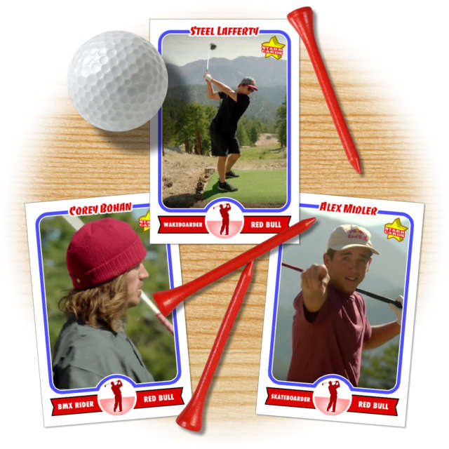 Steel Lafferty, Corey Bohan and Alex Midler up their golf game