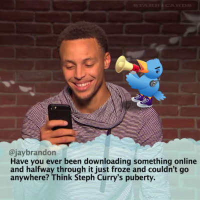 Steph Curry reads mean tweets about himself on 'Jimmy Kimmel Live'