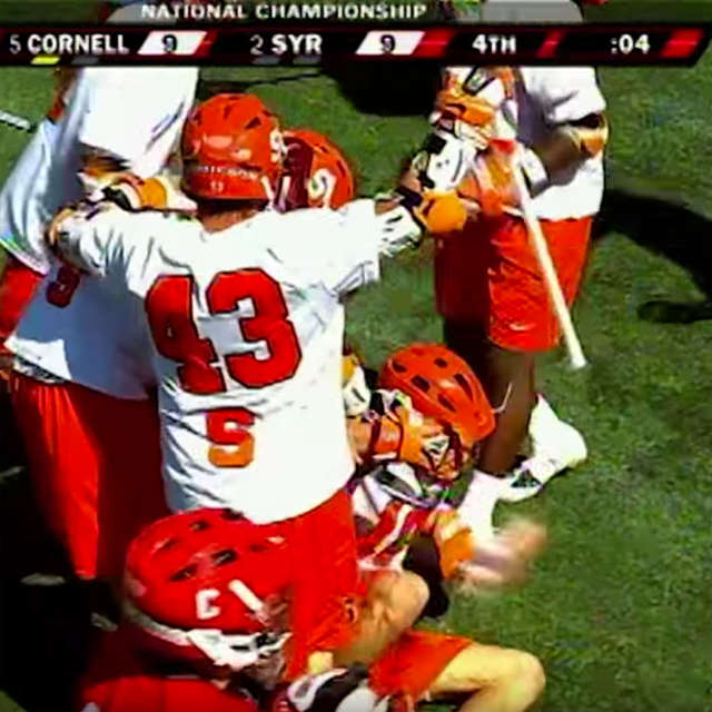 Syracuse ties against Cornell in the greatest lacrosse game ever