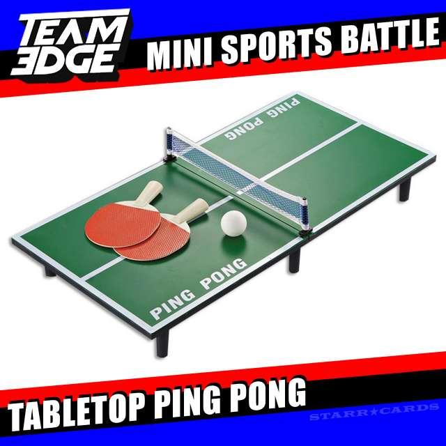 Team Edge Mini Sports Battle: Tabletop Ping Pong