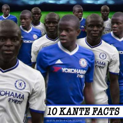 Ten facts about Chelsea star Ngolo Kante