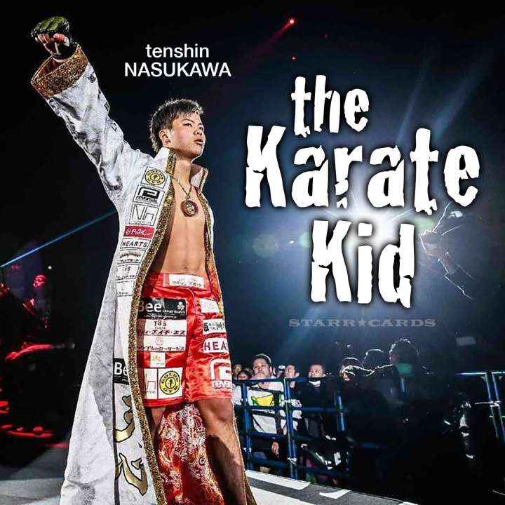 The Karate Kid: Japan's Tenshin Nasukawa electrifying MMA