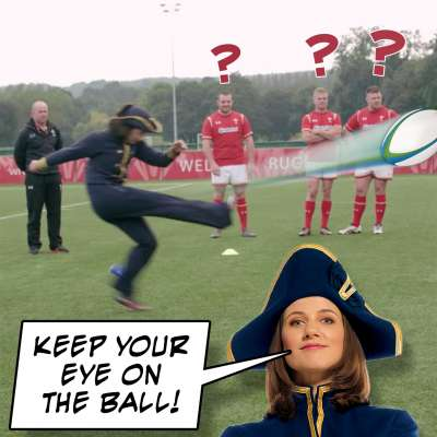 Wales rugby team gets pranked by The Admiral