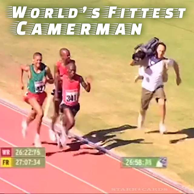 World's fittest cameraman outraces 10K runners in Powerade commercial